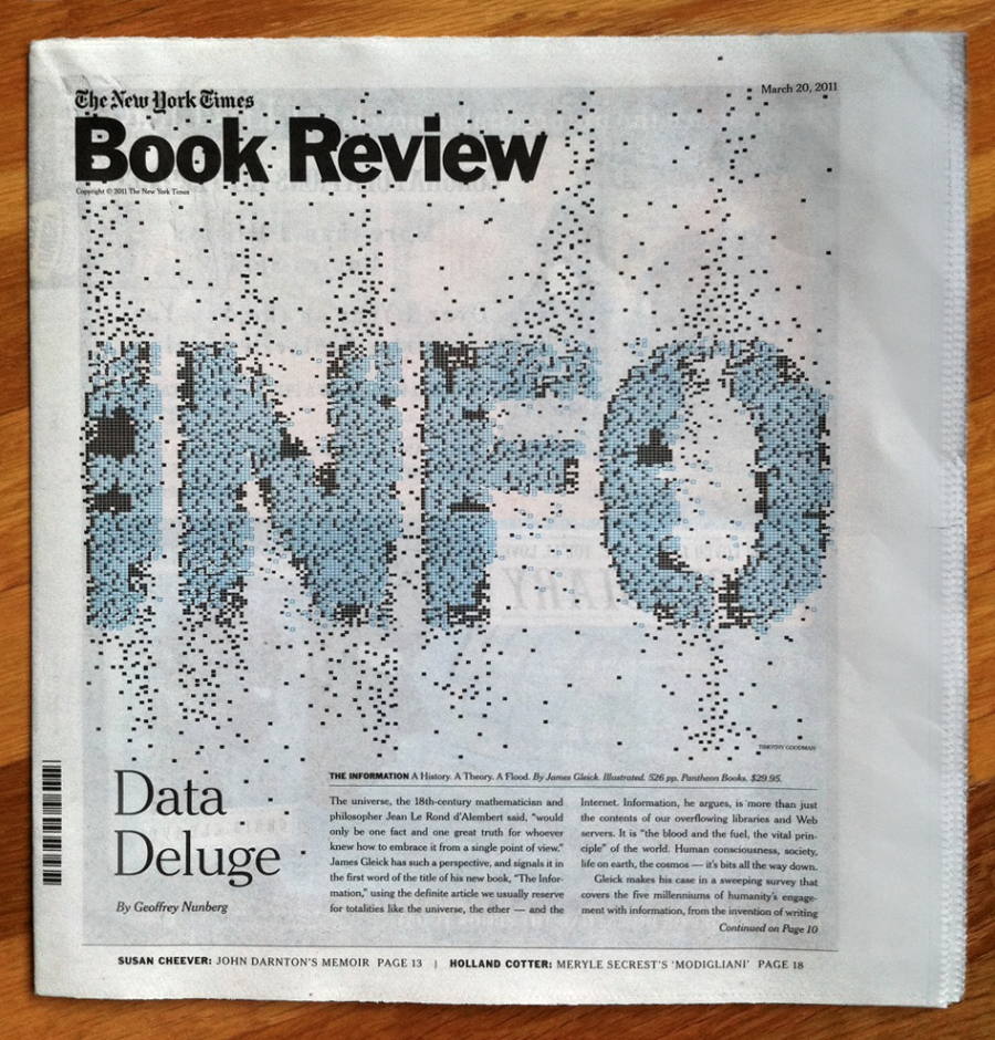 New York Times Book Review Cover Timothy Goodman Blog